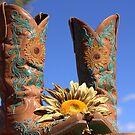 Sunflower Boots by Jessie Miller/Lehto
