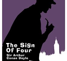 The Sign of Four Book Cover by Ian Fox