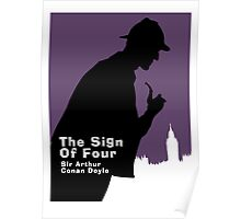 The Sign of Four Book Cover Poster