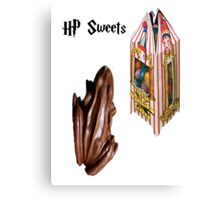 Harry potter sweets Canvas Print