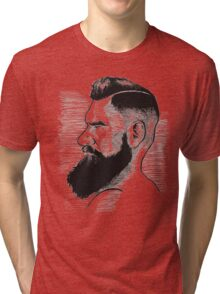 Kenny Brain - Bearded War Lord Tri-blend T-Shirt