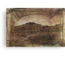 Wine Farm - Radda in Chianti Canvas Print