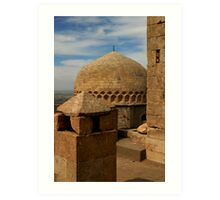 Roof of Kasimiye Medrese Art Print