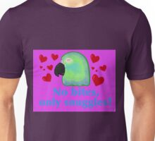 No Bites, Only Snuggles Unisex T-Shirt