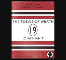Toews Of Wrath Book Cover T-Shirt
