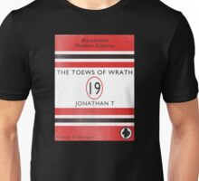 Toews Of Wrath Book Cover Unisex T-Shirt