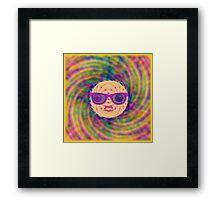 the big bang theory Framed Print