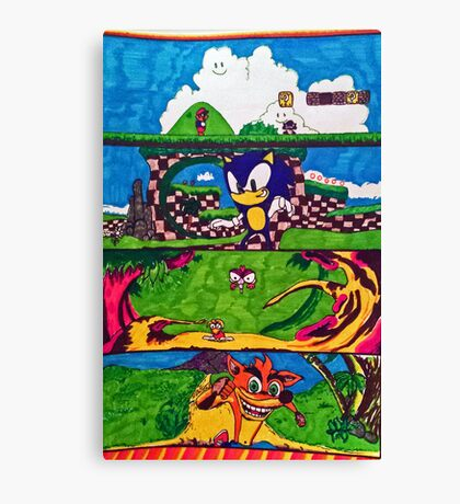 The Classic Game Collection! Canvas Print