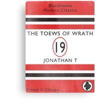 Toews Of Wrath Book Cover Metal Print