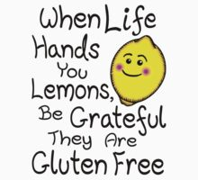 When Life Hands You Lemons, Be Grateful They Are Gluten Free Kids Clothes