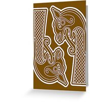 Dragons Head Greeting Card
