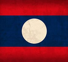 Laos Flag by flaglover
