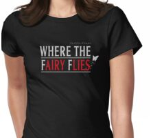 Where the Fairy Flies Womens Fitted T-Shirt