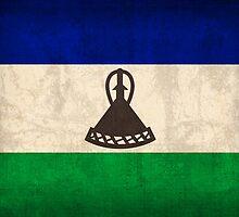 Lesotho Flag by flaglover