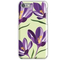 Beautiful flowers, nature pattern iPhone Case/Skin