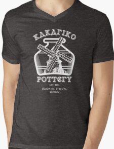 Kakariko Pottery Mens V-Neck T-Shirt