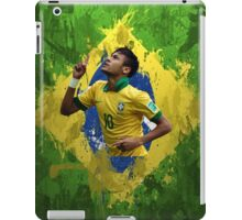 Neymar Brazil football soccer Full canvas  iPad Case/Skin