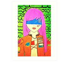 Juicy Solar Art Print