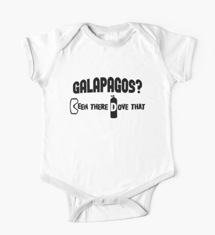 Galapagos Scuba Diving One Piece - Short Sleeve