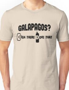 Galapagos Scuba Diving Unisex T-Shirt