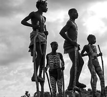 Mursi children by bycesarsuarez