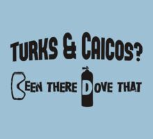 Turks & Caicos Scuba Diving Kids Tee