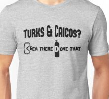 Turks & Caicos Scuba Diving Unisex T-Shirt