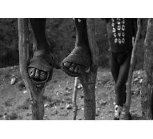 on stilts Photographic Print