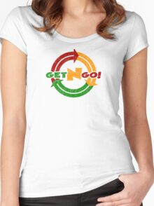 Stop N Go! Art inspired by Titanfall Women's Fitted Scoop T-Shirt