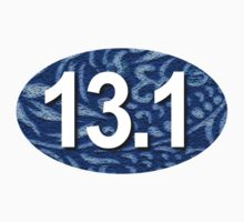13.1 Sticker Blue by robotface