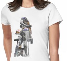 candy_barr_with_lamp Womens Fitted T-Shirt