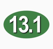 13.1 Oval Sticker - GREEN by robotface