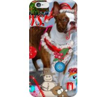 The Santa Dog iPhone Case/Skin