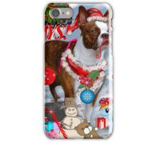The Santa Dog iPhone Case/Skin