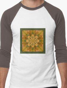 Eye of the Iris - Shawl Men's Baseball ¾ T-Shirt