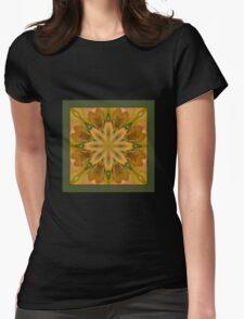 Eye of the Iris - Shawl Womens Fitted T-Shirt