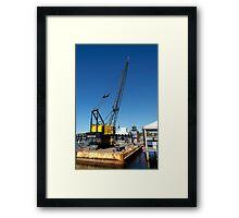 Heavy Equipment Framed Print