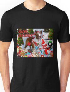 The Santa Dog Unisex T-Shirt