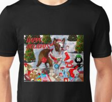 The Santa Dog Unisex T-Shirt