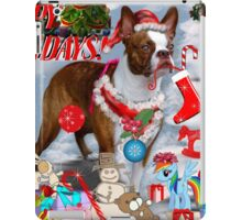 The Santa Dog iPad Case/Skin
