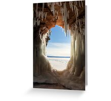 The Keyhole, Apostle Islands,WI Greeting Card