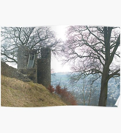 Kendal Castle Poster