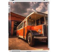Classic Bus  iPad Case/Skin
