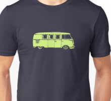 vw camper split kombi bus car t shirt Unisex T-Shirt