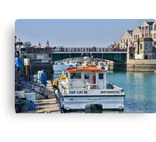 Top Cat At Weymouth, Dorset.UK Canvas Print