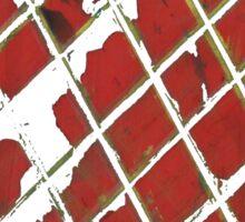 red! Sticker