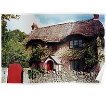 Thatched Cottage.....Isle of Wight ! Poster