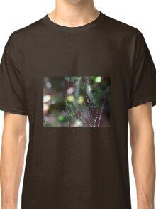 Cobweb droplets II Classic T-Shirt