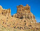 Molly's Castle in the Utah Desert by Kenneth Keifer