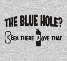Blue Hole Scuba Diving Kids Tee
